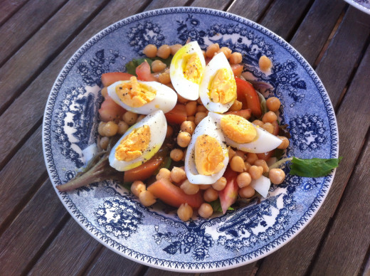 Eggs are great to add to salads