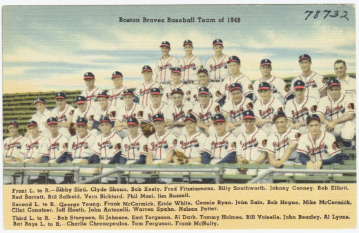 The 1948 Braves. Three members of the team are still alive.
