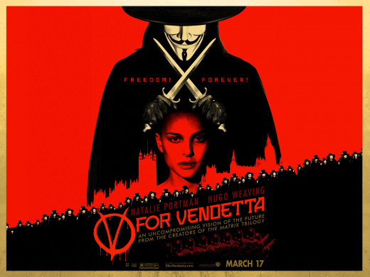 ''V for Vendetta'' (2005)