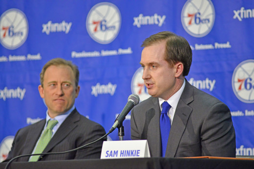 Philadelphia 76ers GM Sam hinkie