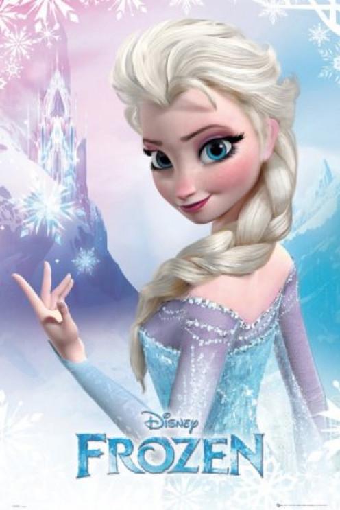 Frozen - Disney Movie Poster