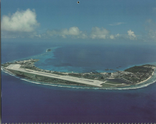 The island is roughly 1/2 mile wide and 3 miles long