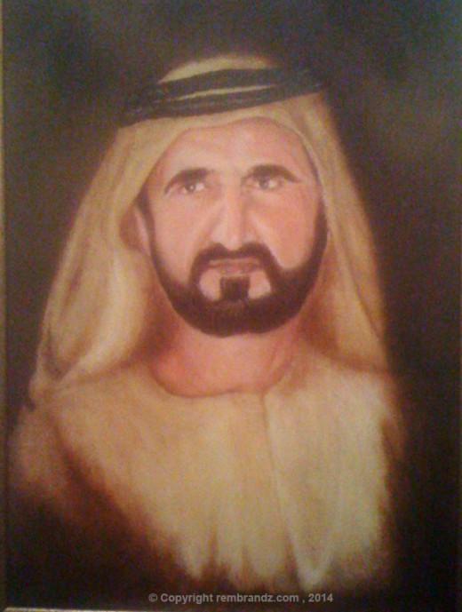 H. H. Sheikh Mohammed - The Ruler of Dubai