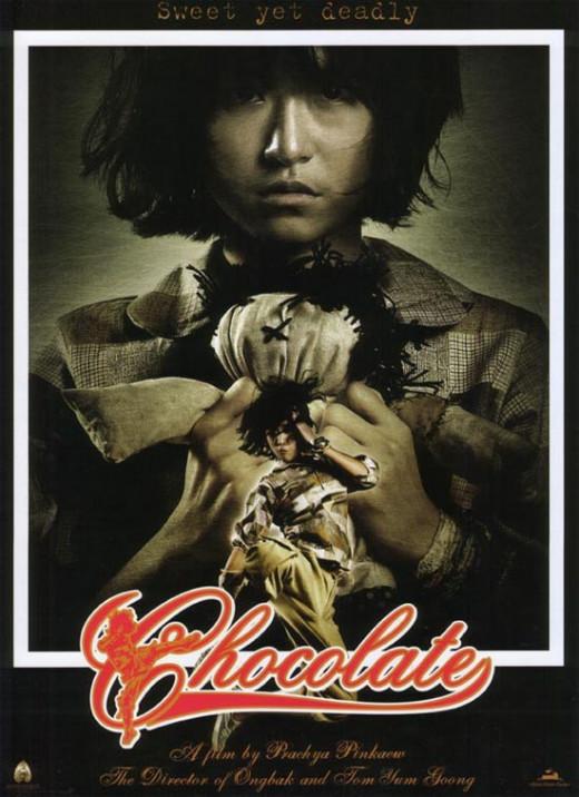 JeeJa Yanin as Zen in Chocolate