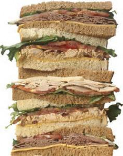 If your lover or mate were to create a sandwich to celebrate you, what ingredients would they use?