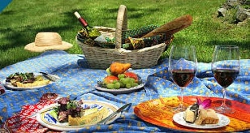 A perfect picnic should feature a wide variety of items.