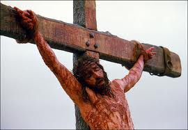 Jesus on the cross for you and I