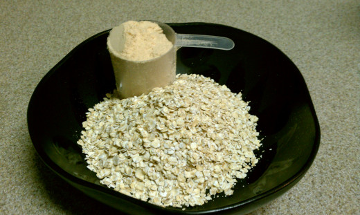 High Protein Raw Oatmeal Recipe