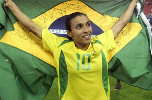Marta- Brazil's best female player