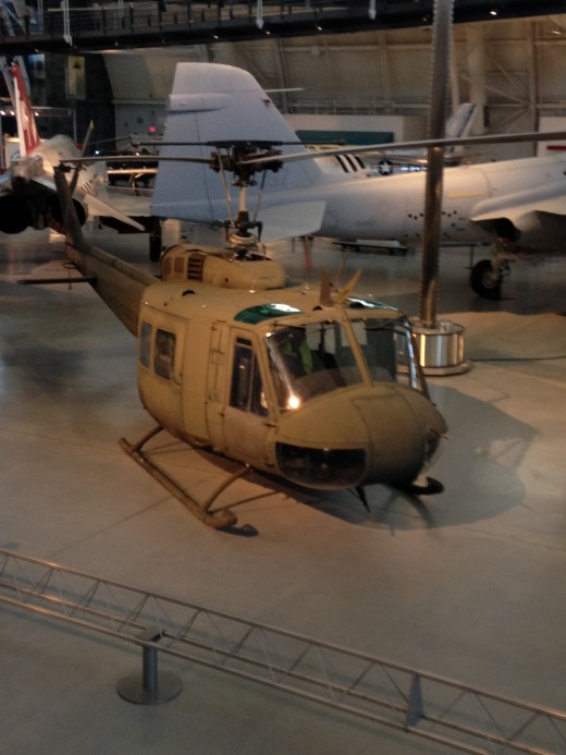 UH-1 (HUEY) IROQUOIS (what I flew in Vietnam with F/8 Cav)