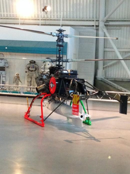 QH-50C DRONE ANTI-SUBMARINE HELICOPTOR