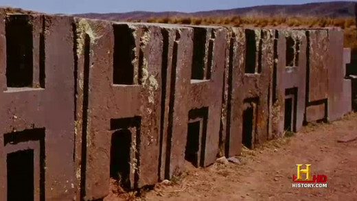 Puma Punku was built by identical blocks of stone which are believed to have formed a gigantic puzzle.