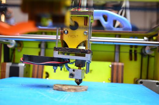 FDM or PolyJet printing 3d solids