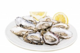 Oyster is a good source of zinc.