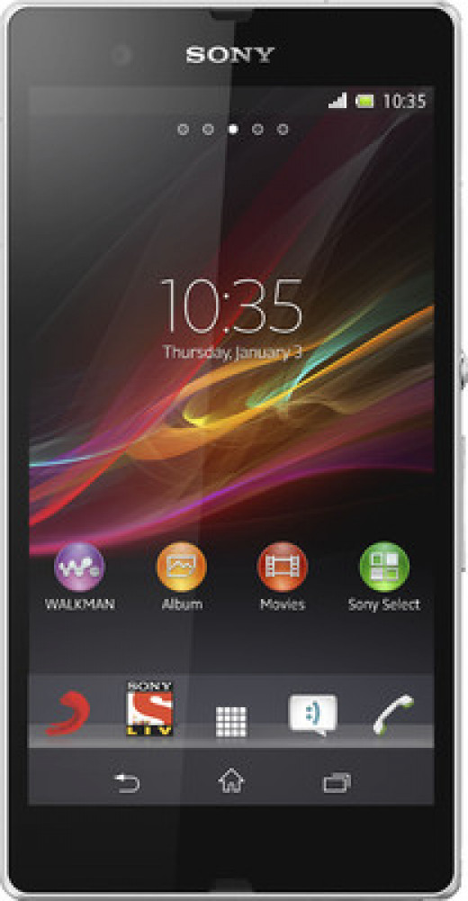 Presenting to you with amazing looks, the Xperia Z