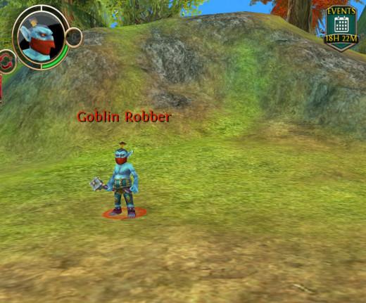 Goblin who drops grenadine.
