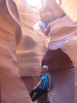 Arizona's Picturesque Antelope Canyon