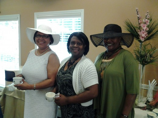 Guest traveled from out of town to attend the Bridal Shower Tea Party in Auburn Hills.
