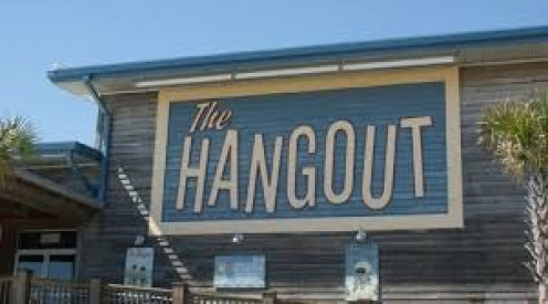 The Hangout features live bands, great food and a fantastic atmosphere. People of all ages and races come together to party at The Hangout.,