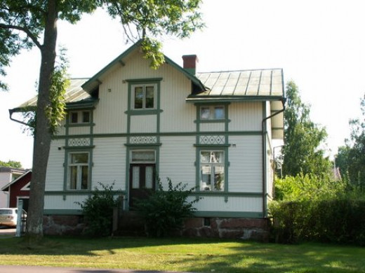 Hilda Hongell style, the first female architect in Finland spent her childhood in Aland.