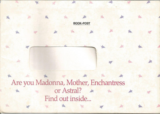 Direct Mail For Hindustan Lever's Astral Soap- The Envelope