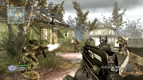 Picture showing multiplayer map Overgrown, which was also available in the Beta of the game.