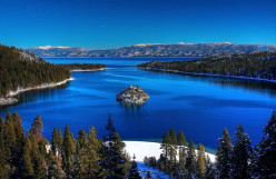 Vacation Lake Tahoe in California and Nevada USA