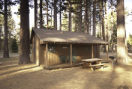 Camp Richardson Cabin, Pierce Arrow