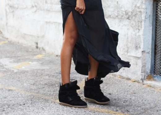 aed8d3e102d8 What to Wear Wedge Sneakers With and How to Style Outfits for Them ...
