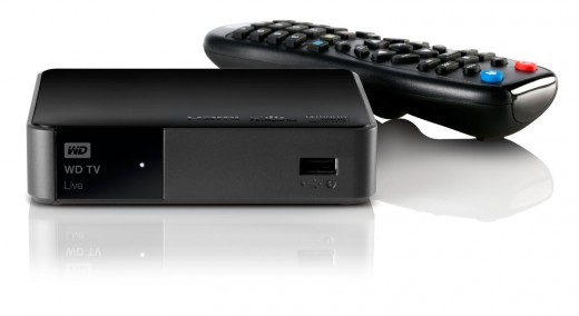 WD TV Live Media Player Wi-fi 1080p