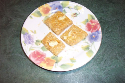 Image: Warm Sesame Crackers With Butter