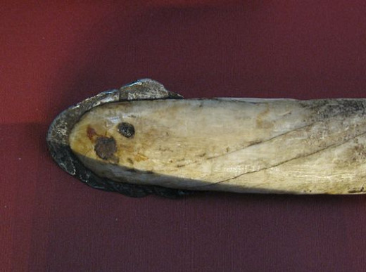 Inuit Lance with a Head Forged from Meteorite Iron