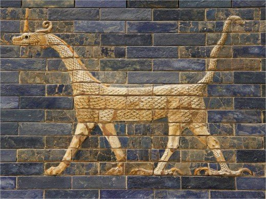 600 BC by Babylonian artist