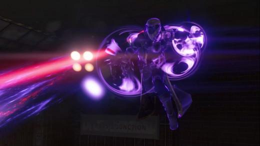 A Warlock using his super