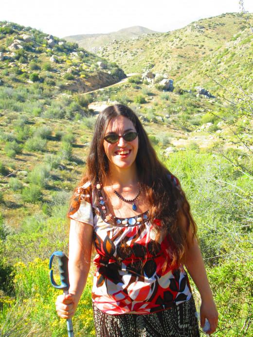 Photo of me on a hike