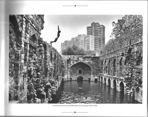 Photocaption: A memorable moment, an indelible impression at Ugrasen's Baoli, Delhi
