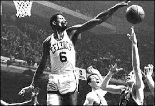 Bill Russell simply towered over the competition while playing for the Boston Celtics during the 1960s.