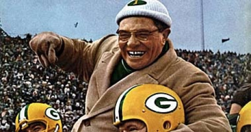 Vince Lombardi is a legendary coach and he helped the Green Bay Packers rule professional football during the 1960s.