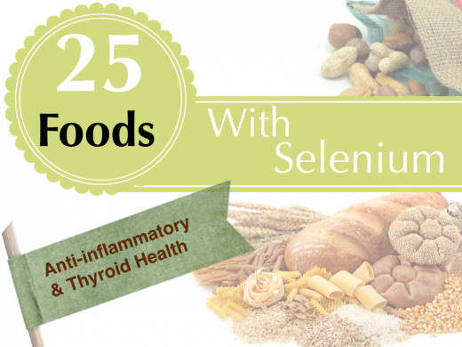 Selenium protects the body from free radicals, promotes good thyroid health, and reduces joint inflammation.