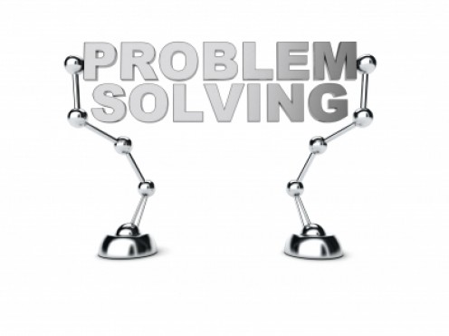 Thinking and Problem Solving:  Working backward from a goal to means of achieving it.