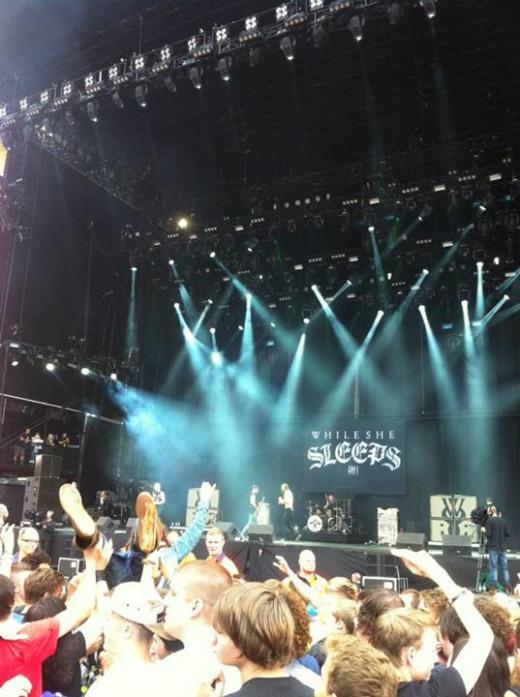 While She Sleeps at Leeds 2013
