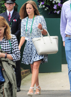 Kim Sears' Courtside Style