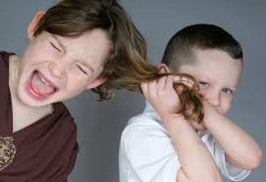 Sibling rivalry due to bullying