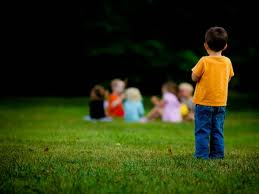 Lonely children can become low on self esteem!