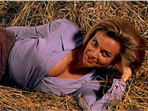 Pussy Galore in Goldfinger (Honor Blackman)