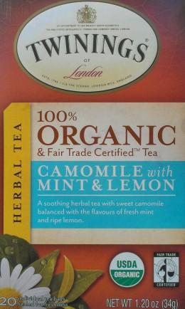 Twinings Organic Herbal Tea