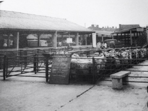 Uttoxeter Cattle market is now gone, but I remember it being there when I was young