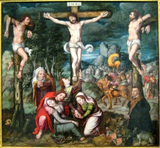 Golgotha (circle of Bartholomaus Bruyn d. A.)Public Domain circle of Bartholomäus Bruyn d. Ä. - own photo
