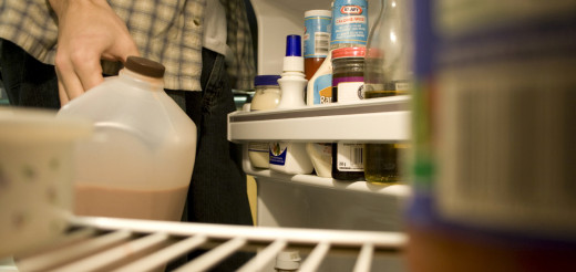 Make it a habit to sniff, inspect, and clean out your food items each week so you never have to wonder how long that jar of mayo has been sitting in the back of the fridge.