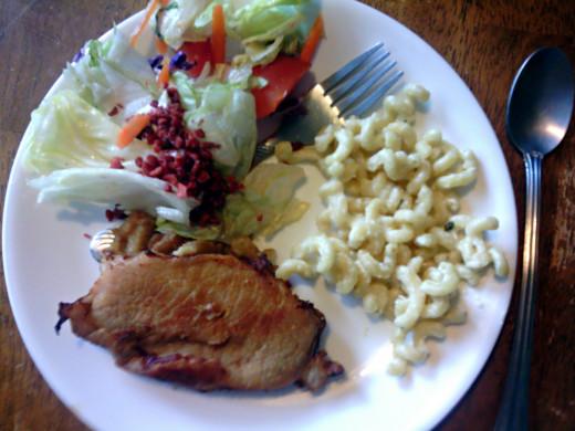 Crouton Stuffed Pork Recipe
